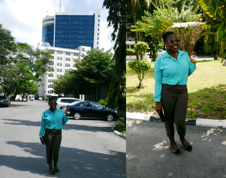 At Eko Hotels&Suites.From here on out is the weekend Baby!!!