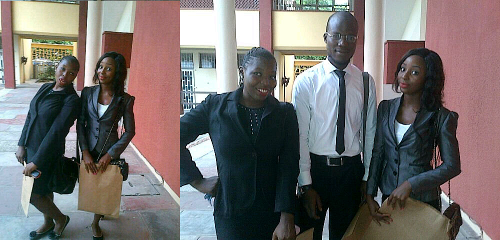 See as we be like 100L jambitos cuz of file.With Hussien&Eloho,my fellow jam..err,Lawyers...