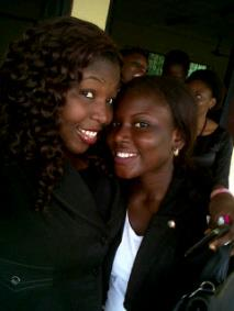 Anita and I