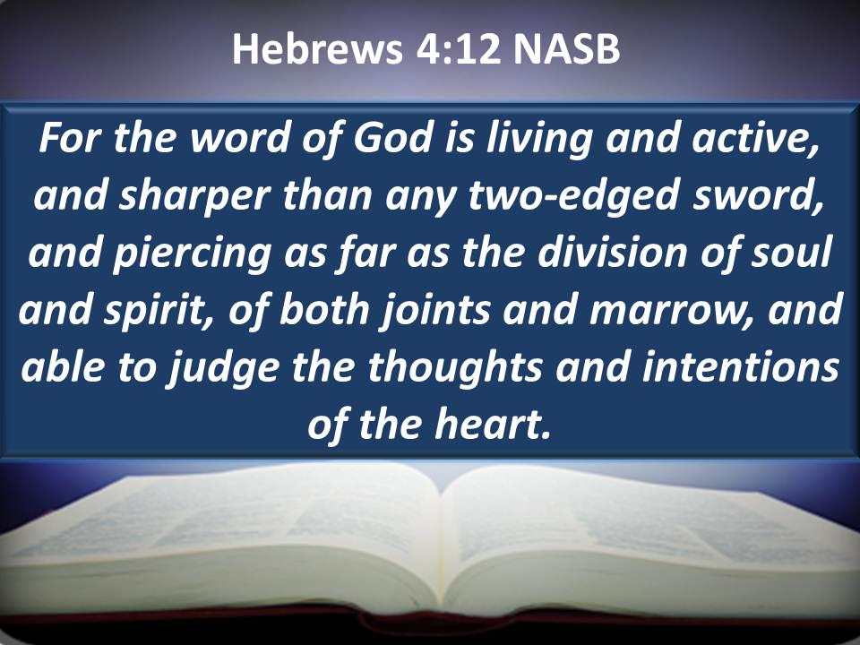 The Word Liveth!