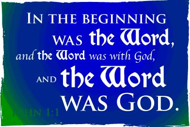 God=the word