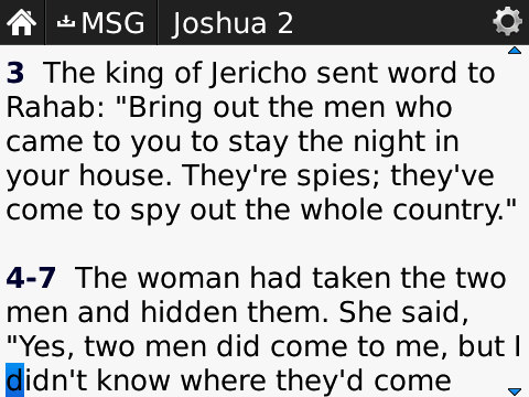 Joshua 2